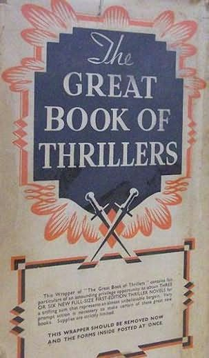 book cover of The Great Book of Thrillers