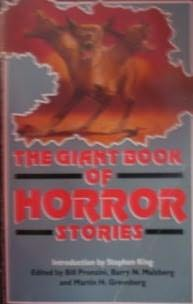 book cover of The Giant Book of Horror Stories