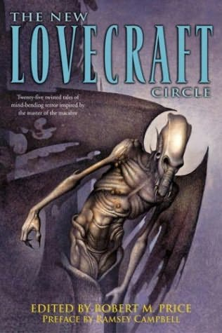 book cover of The New Lovecraft Circle