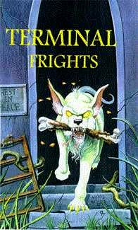 book cover of Terminal Frights