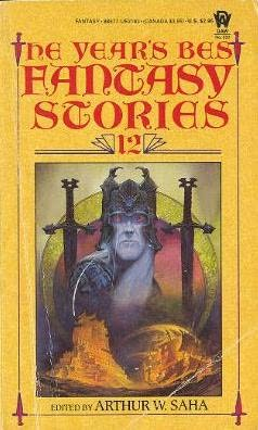 book cover of The Year\'s Best Fantasy Stories 12