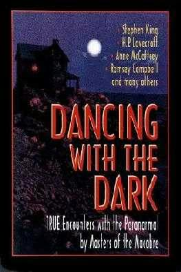 book cover of Dancing with the Dark