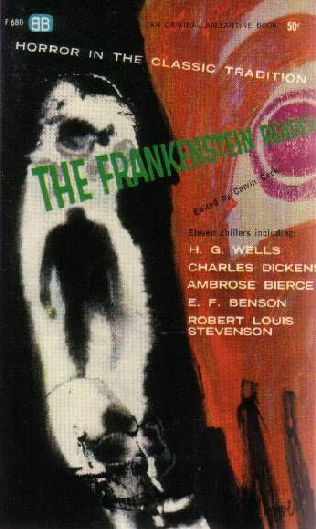 book cover of The Frankenstein Reader