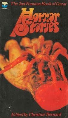 book cover of The 2nd Fontana Book of Great Horror Stories