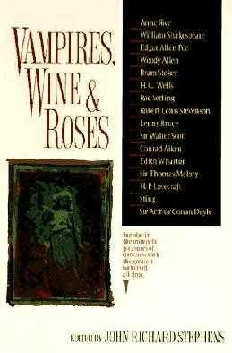 book cover of Vampires, Wine and Roses