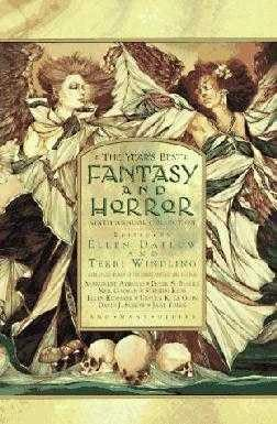 book cover of The Year\'s Best Fantasy and Horror Ninth Annual Collection
