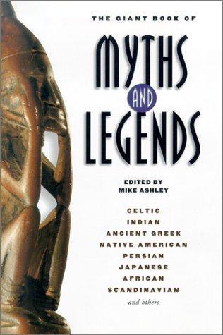 book cover of The Giant Book of Myths and Legends