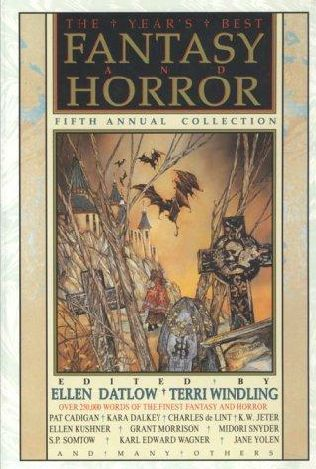 book cover of The Year\'s Best Fantasy and Horror Fifth Annual Collection