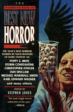 book cover of The Mammoth Book of Best New Horror Volume Eight