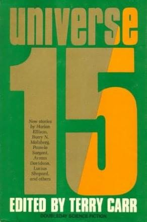 book cover of Universe 15