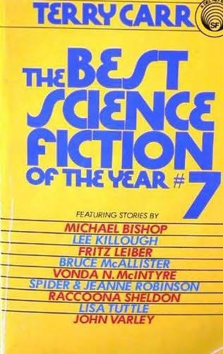 book cover of The Best Science Fiction of the Year 7