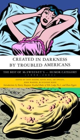 book cover of Created in Darkness By Troubled Americans