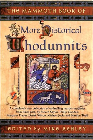book cover of The Mammoth Book of More Historical Whodunnits