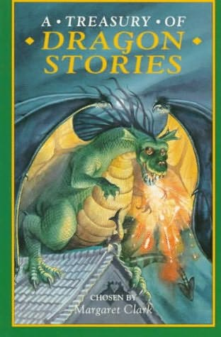 book cover of A Treasury of Dragon Stories