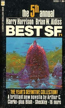 book cover of Best SF: 1971