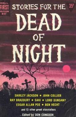 book cover of Stories For The Dead of the Night