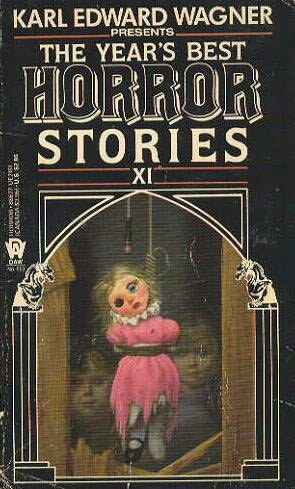 book cover of The Year\'s Best Horror Stories XI