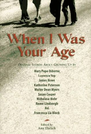 book cover of When I Was Your Age