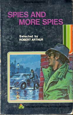 book cover of Spies and More Spies
