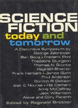 book cover of Science Fiction Today and Tomorrow