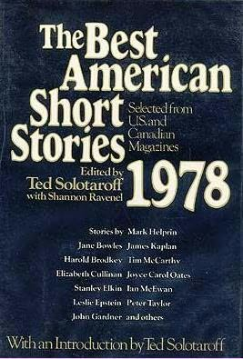 book cover of The Best American Short Stories 1978