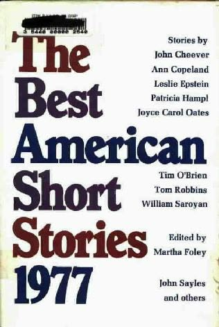 book cover of The Best American Short Stories 1977
