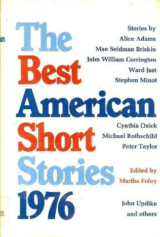 book cover of The Best American Short Stories 1976