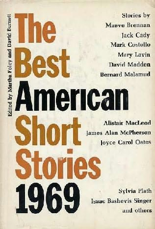 book cover of The Best American Short Stories 1969