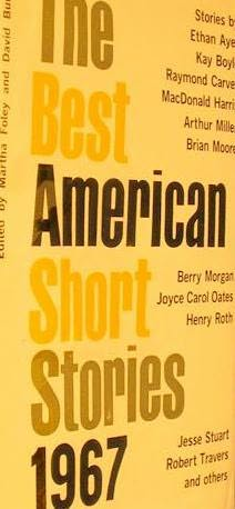 book cover of The Best American Short Stories 1967