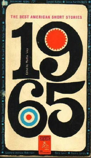 book cover of The Best American Short Stories 1965