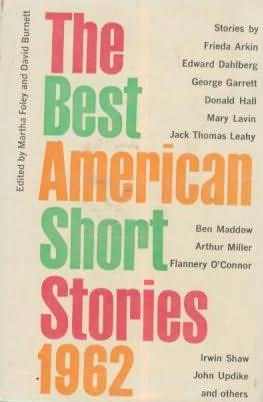 book cover of The Best American Short Stories 1962