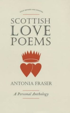 book cover of Scottish Love Poems
