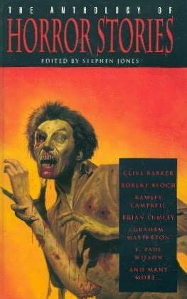 book cover of The Anthology of Horror Stories