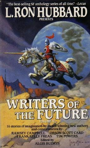 book cover of L Ron Hubbard Presents Writers of the Future Volume IV