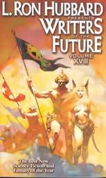 book cover of L Ron Hubbard Presents Writers of the Future Volume XVIII