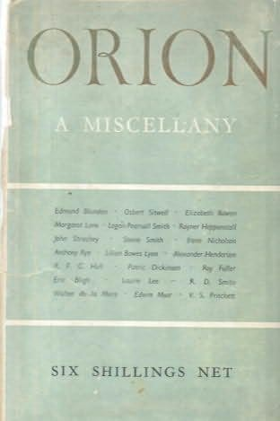 book cover of Orion; Volume II