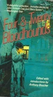 book cover of Four and Twenty Bloodhounds