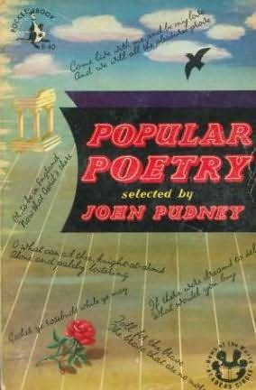 book cover of Popular Poetry