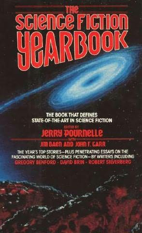 book cover of The Science Fiction Yearbook
