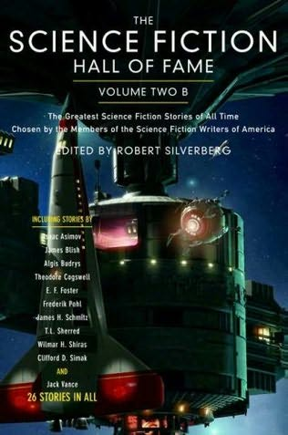 book cover of Science Fiction Hall of Fame Volume Two B