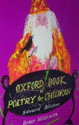 book cover of Oxford Book of Poetry for Children