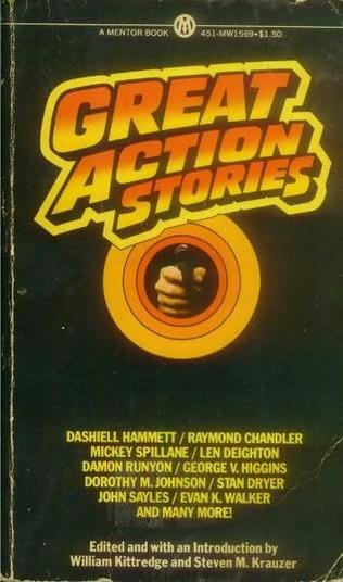book cover of Great Action Stories