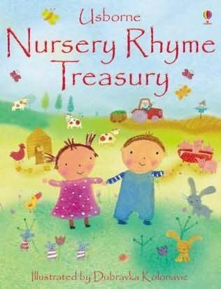 book cover of The Nursery Rhymes Treasury