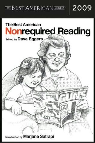 book cover of The Best American Nonrequired Reading 2009