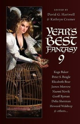 book cover of Year\'s Best Fantasy 9