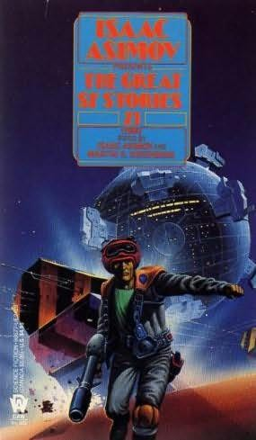 book cover of The Great SF Stories 21