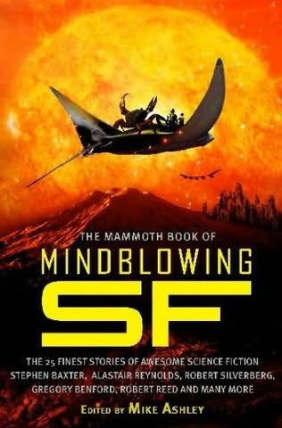 book cover of The Mammoth Book of Mindblowing SF