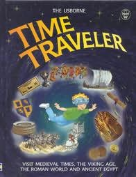 book cover of Usborne Time Traveller