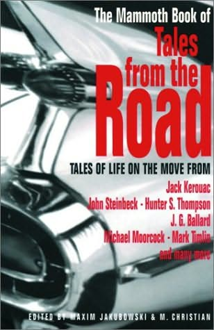 book cover of The Mammoth Book of Tales from the Road