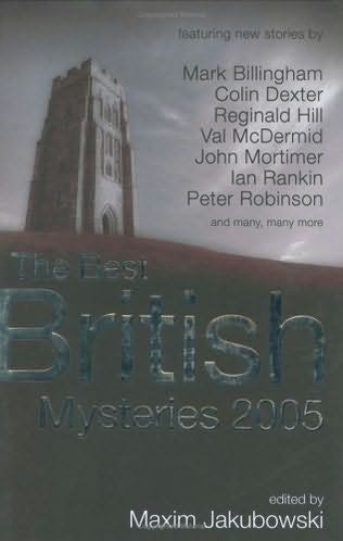 book cover of The Best British Mysteries 2005